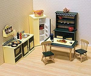 Melissa & Doug Dollhouse Furniture - Kitchen Set