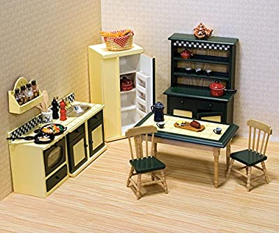 Melissa & Doug Dollhouse Furniture - Kitchen Set