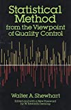 img - for Statistical Method from the Viewpoint of Quality Control (Dover Books on Mathematics) by Walter A. Shewhart (2011) Paperback book / textbook / text book