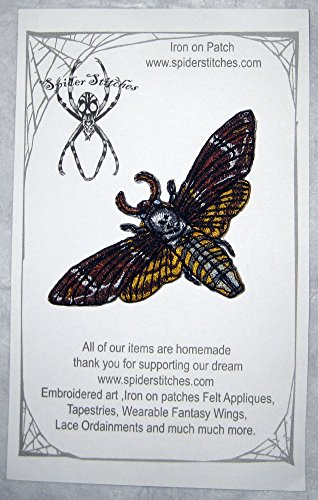 deaths-head-hawk-moth-iron-on-patch