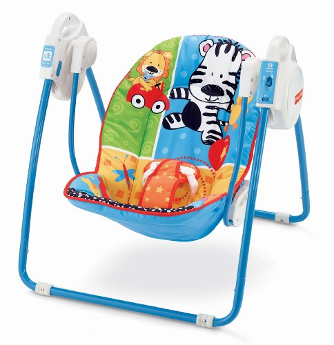 Fisher-Price Adorable Animals Take Along Swing