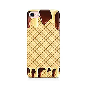 Generic Dripping Chocolate Premium Printed Mobile Back Case Cover For Apple iPhone 7