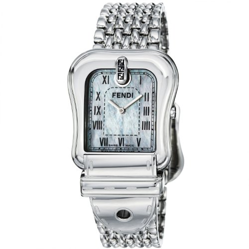 Fendi Women's FE386140 Milanese Mother-of-Pearl Dial Watch