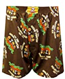 Peanuts Gang - It's The Great Pumpkin Brown Boxers for men
