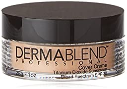 Dermablend Cover Foundation Creme SPF 30, Pale Ivory Chroma, 1 Ounce