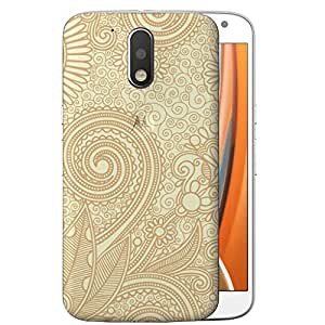 Digione designer Back Replacement Texture Plastic Cover Panel Battery Cover Snap on Case Cover for Motorola Moto G4 / G4 Plus