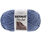 Spinrite Bernat Blanket Big Ball Yarn, Country Blue
