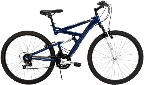 Huffy 26-Inch Men's DS-3 Dual Suspension Bike (Blue)