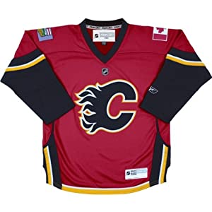 Calgary Flames NHL Reebok Hockey Jersey Red Toddler 2-4T One Size by Reebok