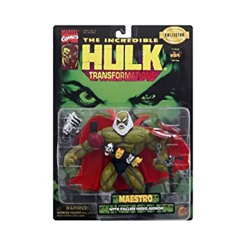 The Incredible Hulk Maestro (Future Imperfect) Action Figure with Fallen Hero Armor by Toy Biz