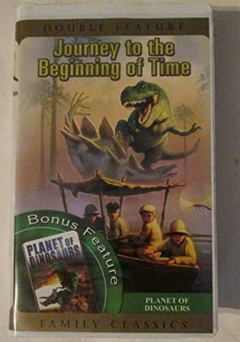 Journey to Beginning & Planet of Dinosaurs [VHS] [Import]