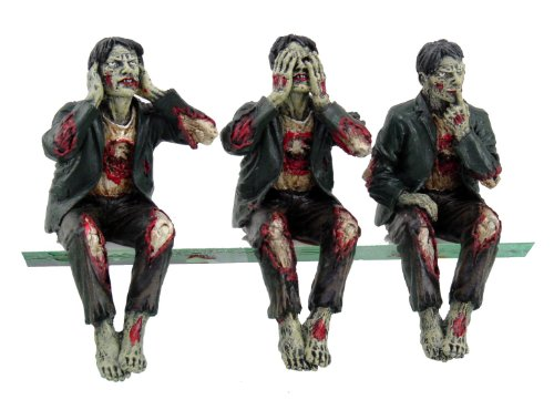 Walking Dead See Hear Speak No Evil Set