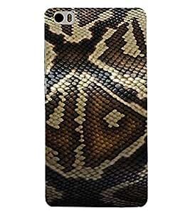 Printvisa Elegant Snake Skin Background Back Case Cover for Xiaomi Redmi Mi5::Xiaomi Mi 5
