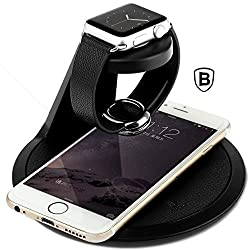 Time Series Charging Bracket/Stand Apple Watch - Black