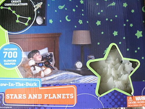 Discovery Kids Glow In The Dark Stars And Planets - 700 Glowing Shapes front-795748