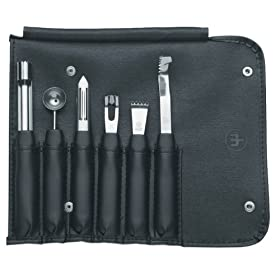 Wüsthof 7-Piece Garnishing Tool Kit