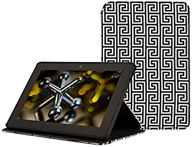 Jonathan Adler Greek Key Cover - Black (Fits Kindle Fire HDX7)