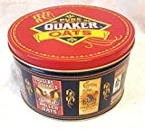 Vintage 1983 Quaker Oats Tin Container