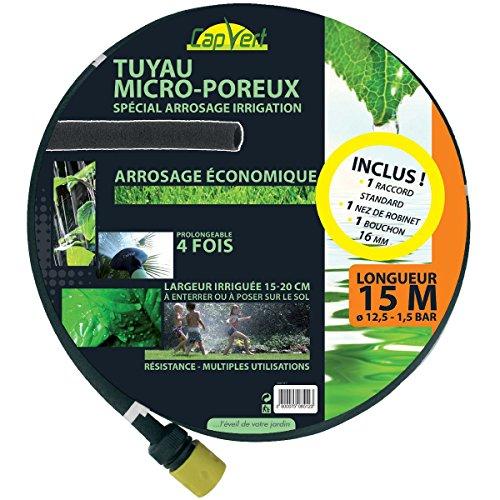 Tuyau d'arrosage micro-poreux - 15 m - Cap Vert