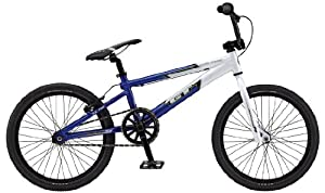 GT Power Series Pro BMX Bike White/Blue 20""