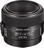 Sony 50mm f 2.8 Macro Lens for Sony Alpha Digital SLR Camera
