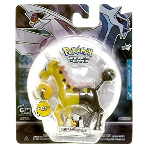 Girafarig - Pokemon Diamond and Pearl Marble Series 4