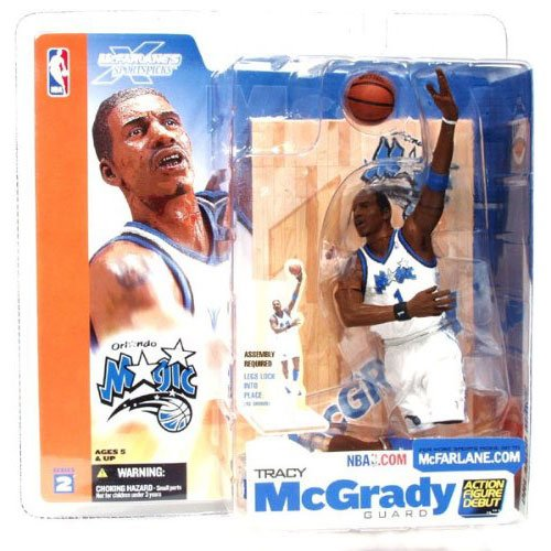 McFarlane Sportspicks: NBA Series 2 Tracy McGrady Action Figure - 1