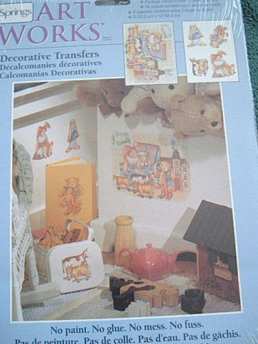"Art Works Decorative Transfers ""TOY TIME"" - Indoors or Outdoors - Nursery"