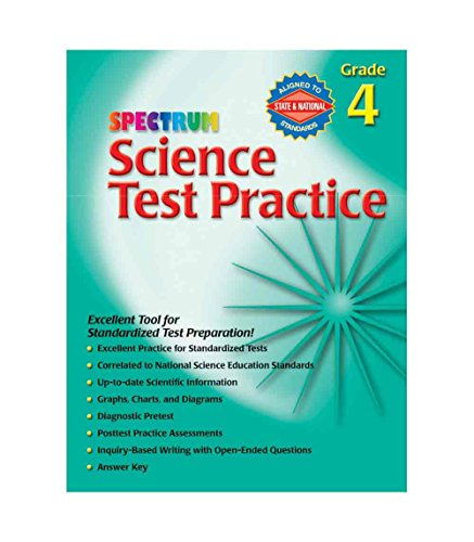 Spectrum Science Test Practice Workbook, Grade 4 - 1