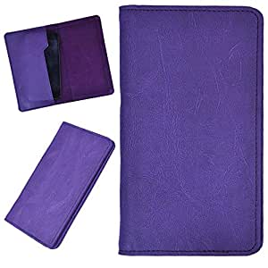 DCR Pu Leather case cover for LG Optimus G Pro (E988) (purple)
