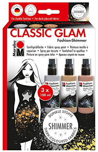 marabu-171800081-fashion-shimmer-classic-glam-set-3-x-100-ml-multicolore
