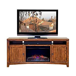 martin furniture contemporary presidio 2 door tv stand brown fully assembled. Black Bedroom Furniture Sets. Home Design Ideas