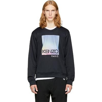 Kenzo  Black Paris Logo Sweatshirt 並行輸入品