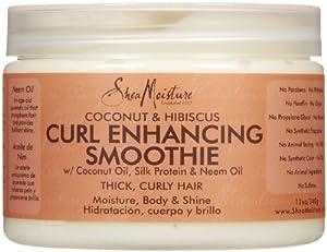 Shea Moisture Coconut Hibiscus Curl Enhancing Smoothie-12 oz