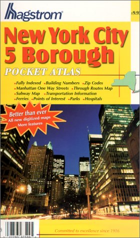 New York City 5 Borough Pocket Atlas