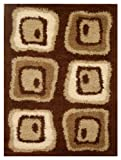 ORC Lotus Rug, Brown, 150 x 80 cms