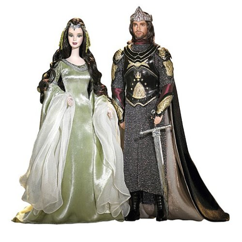 Review for Barbie and Ken as Aragorn and Arwen Evenstar - Lord of The Rings Gift Set
