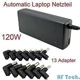 Universal Laptop Notebook AC Adapter Charger 120W Automatic Voltage Adjustable ACER, SONY, Fujitsu, Toshiba, Fujitsu, NEC, HP / Compaq, Dell, Delta, IBM, ASUS, Samsung, LG, Medion, Delta, Lenovo