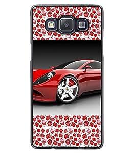 Fuson 2D Printed Car Designer back case cover for Samsung Galaxy A5 - D4176