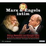 """Marx & Engels intim. Harry Rowohlt und Gregor Gysi aus dem unzensierten Briefwechsel. 1 CD (Live-Mitschnitt)von """"Gregor Gysi"""""""