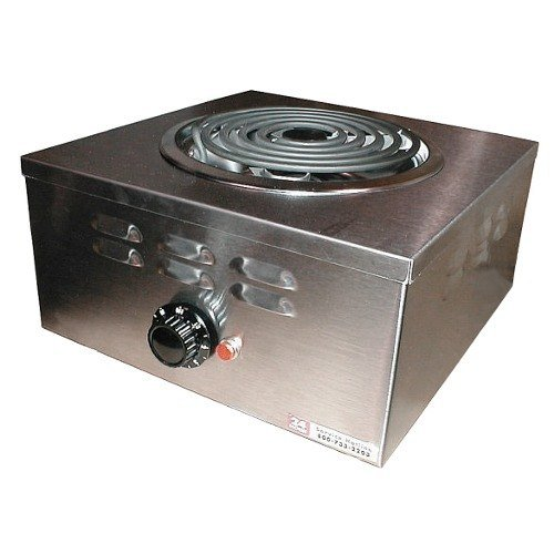 Apw Wyott Porta Stove Electric Portable Hot Plate, 7.125 X 12.75 X 12.75 Inch -- 1 Each.