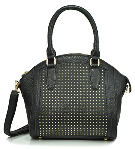 sr-squared-by-sondra-roberts-pebbled-nappa-with-pin-dots-satchel-black