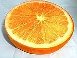 フルーツ クッション オレンジ リアル ミカン 果物 果実 座布団 枕 おまけ付き