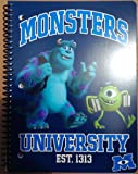 Monsters University 1 Subject School Notepad (Monsters U Est. 1313 (Sulley and Mike))