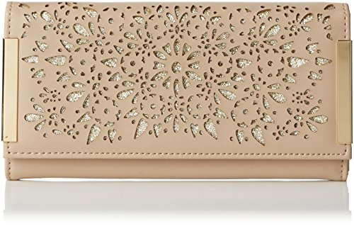 New Look Womens Cara Baroque Chop Out Clutch