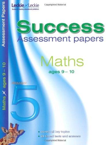9-10 Mathematics Assessment Success Papers