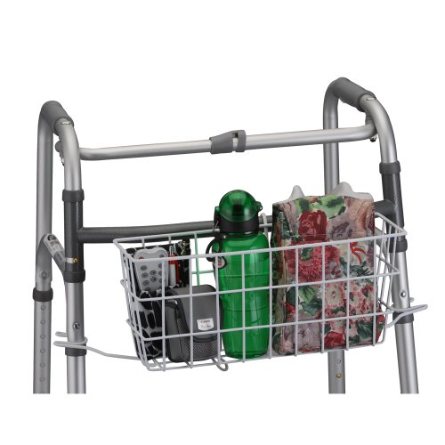 NOVA Medical Products Universal Folding Walker Basket (Walker Basket With Insert compare prices)