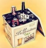 Spezialitäten Bier Box - hochwertige Metallbox gefüllt mit...