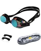Ipow Anti-Buée Miroir Seal Nager Lunettes de natation avec protection UV Placage + supérieur lunettes de protection lunettes protectrices