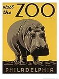 Visit the Philadelphia Zoo Premium Poster Print, 12×16